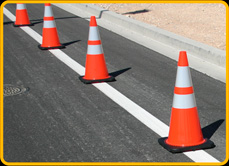 Superior 3S-702 PVC Traffic Cones
