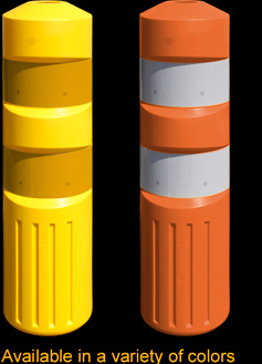 3S-K71 Self Re-Erecting Marker Posts are available in a variety of colors
